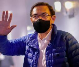 L'ancien président péruvien Martin Vizcarra © AFP