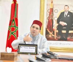 Nasser Bourita, ministre des Affaires étrangères, le 21 avril 2020 © DR