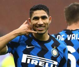 Achraf Hakimi, latéral droit de l'Inter Milan © DR