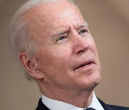 Le président américain Joe Biden © AFP