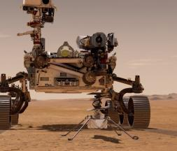 Perseverance sur Mars © Nasa