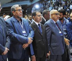 Aziz Rabbah, El Mostafa Ramid, Saad Dine El Otmani et Abdelilah Benkirane