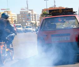 La pollution de l'air à Casablanca