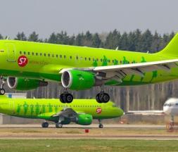 Des avions de la compagnie aérienne russe S7 Airlines © airliners.net / Vladimir Voronov