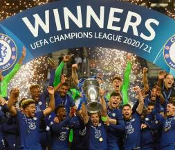 Chelsea a remporté samedi 29 mai la deuxième Ligue des champions de son histoire © Pierre-Philippe Marcou, AFP