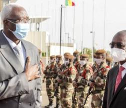 Le président Bah N'Daw, le 17 mai à Bamako © DR / Présidence malienne