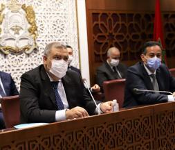 Abdelouafi Laftit, ministre de l'Intérieur au Parlement © DR
