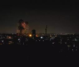 Frappe israélienne au nord de Gaza, le 17 juin 2021 © Mohammed Salem, Reuters