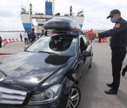 Arrivée du premier ferry de MRE à Tanger Med, le 17 juin 2021 © L'Économiste