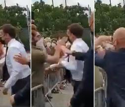 France : Emmanuel Macron giflé lors d'un déplacement dans la Drôme