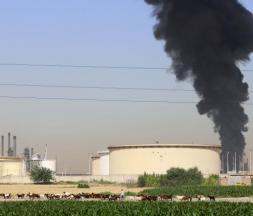 Une raffinerie de pétrole de Téhéran prend feu © DR
