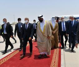 """Visite """"historique"""" du ministre israélien Yaïr Lapid aux Émirats arabes unis"""