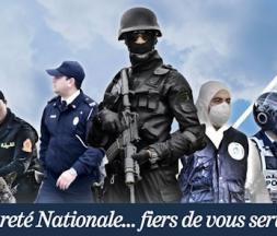 Affiche du compte officiel de la DGSN