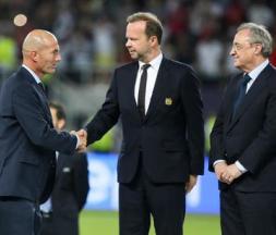 Zinedine Zidane a fait ses adieux aux supporters du Real Madrid © DR