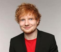 La star Ed Sheeran © DR