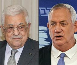 Israël-Palestine : rencontre inédite de Benny Gantz et Mahmoud Abbas