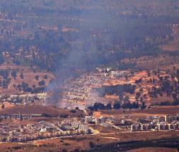 Deux projectiles sont tombés en Israël et le troisième n'a pas traversé la frontière © AFP