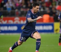 Lionel Messi a joué son premier match avec le PSG ce dimanche soir © AFP
