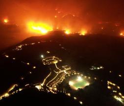 La Turquie et la Grèce peinent à lutter contre les incendies de forêt