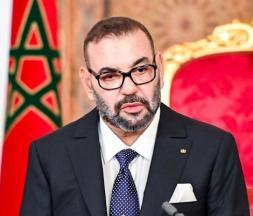 Mohammed VI lors de son discours du 31 juillet dernier © DR