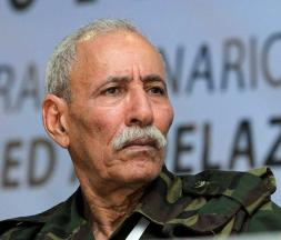 Brahim Ghali, chef du front du polisario © DR