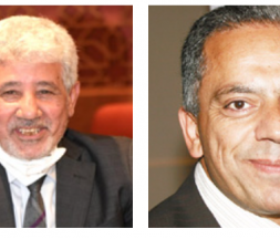 Les Istiqlaliens Abdelouahed El Ansari et Abdellatif Maâzouz © DR