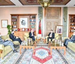 Nasser Bourita a reçu, aujourd'hui à Rabat, le Représentant spécial du Secrétaire Général des Nations Unies pour le Sahara et chef de la MINURSO, M. Alexander Ivanko