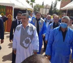 Adelouaheb Belfquih, ex-candidat du Parti authenticité et modernité (PAM) à la présidence de la région Guelmim-Oued Noun © DR