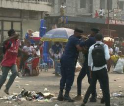 Une manifestation de l'opposition violemment réprimée en RD Congo © France 24