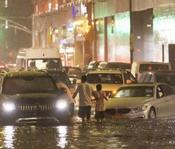 Ouragan Ida : pluies torrentielles et inondations à New York