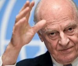 l'Envoyé spécial de l'ONU, Staffan de Mistura © DR