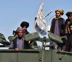 Des combattants talibans en Afghanistan, le 1er septembre 2021 © AFP