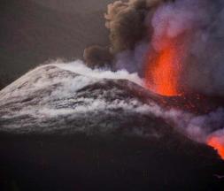 Volcan Cumbre Vieja : la lave s'épaissit après l'effondrement d'un cratère