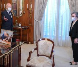 Kais Saied et Najla Bouden-Romdhane