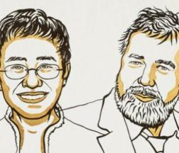 Nobel 2021 : les journalistes Maria Ressa et Dmitry Muratov reçoivent le prix de la paix