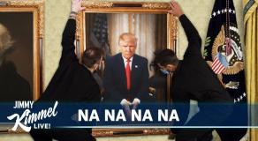 Jimmy Kimmel «rend hommage» à Donald Trump