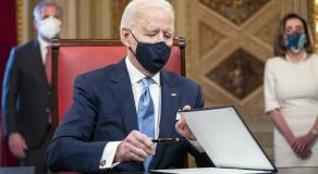 Les moments forts de l'investiture de Joe Biden