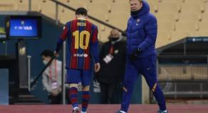 Lionel Messi a reçu un carton rouge, une première