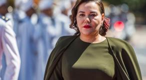 La princesse Lalla Hasnaa, sœur du roi Mohammed VI, le 9 avril 2019 à Rabat © AFP
