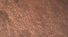 La surface de mars, capturée par Perseverance