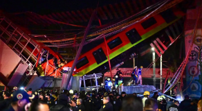 Mexique : 15 morts dans l'effondrement d'un métro
