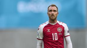 Christian Eriksen, Danimarca, Euro 2020 © Getty Images