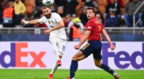 La France a battu l'Espagne (2-1)