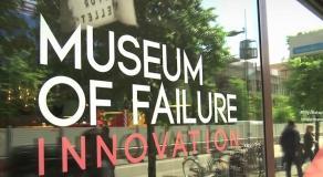 Que peut-on trouver dans le musée suédois de l'échec ?