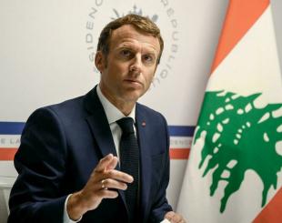 Emmanuel Macron réunit, mercredi 4 août 2021, les principaux acteurs de la communauté internationale, un an, jour pour jour, après les explosions du port de Beyrouth. © Christophe Simon, AFP