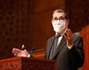 Le chef du gouvernement Saad Dine El Otmani au Parlement © DR