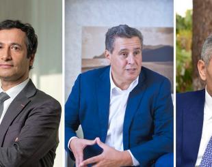 Trois prétendants au titre de chef du gouvernement © DR