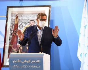 Aziz Akhannouch, secrétaire général du RNI © DR
