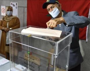 Un bureau de vote au Maroc ce mercredi 8 septembre 2021