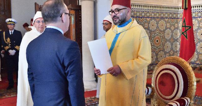 Le roi reçoit les nouveaux ambassadeurs étrangers